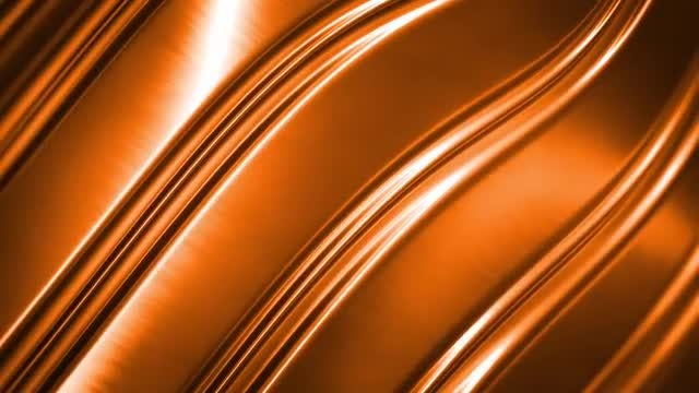 Gold Metal Backdrop: Stock Motion Graphics