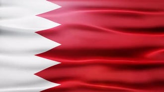 Bahrain Flag: Motion Graphics