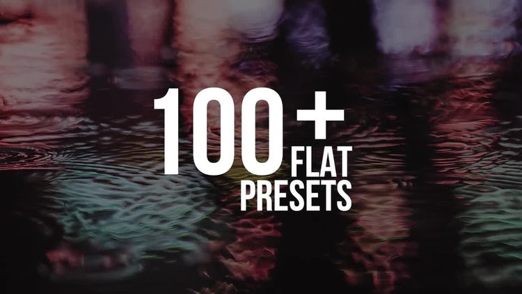 Flat Presets: Premiere Pro Presets