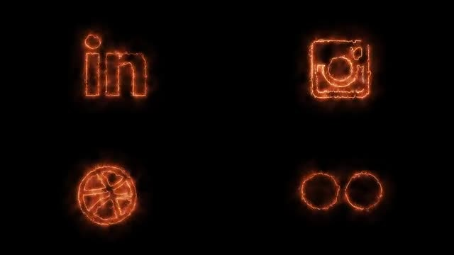 Fire Social Media Vol.2: Stock Motion Graphics