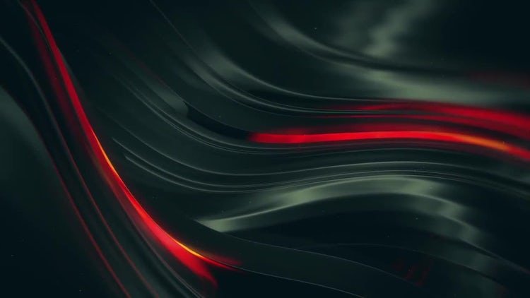 Black Glossy Background: Motion Graphics