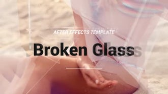 Broken Glass: After Effects Templates