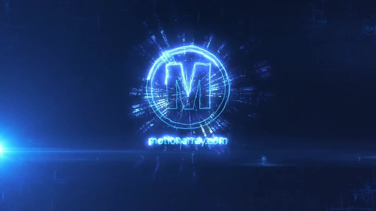 Energy Glitch Logo: After Effects Templates