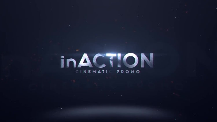 InAction : Cinematic Trailer: After Effects Templates