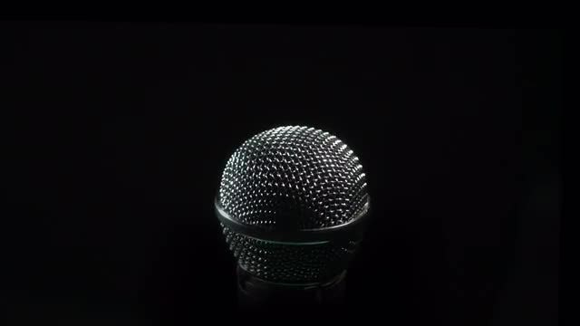 Microphone: Stock Video