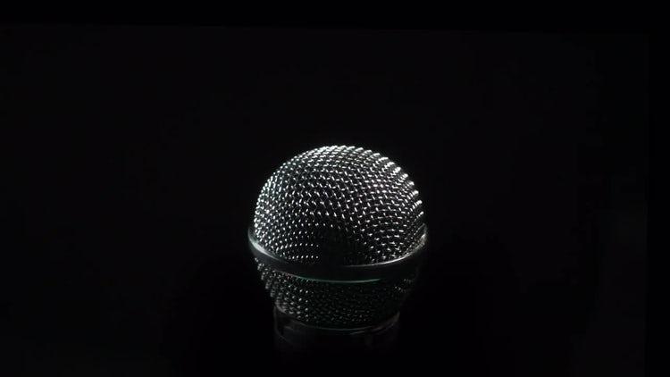 Microphone: Stock Video