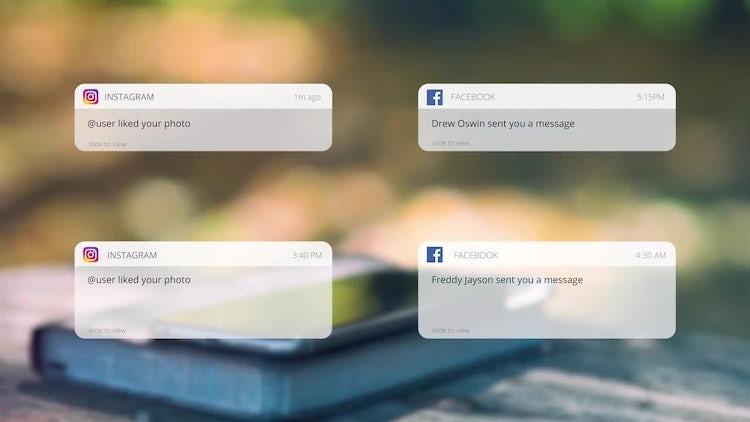 Social Media Messages: Premiere Pro Templates