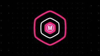 Minimal Flat Logo Reveal: After Effects Templates