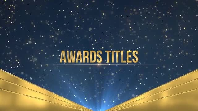 Awards Titles: Premiere Pro Templates