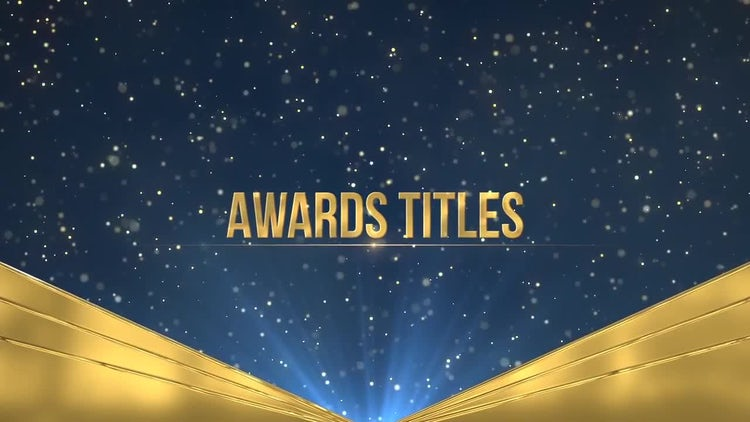 Awards Titles: Premiere Pro Templates