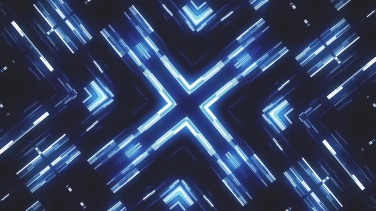 Glowing Squares Abstract Vj Loop: Motion Graphics