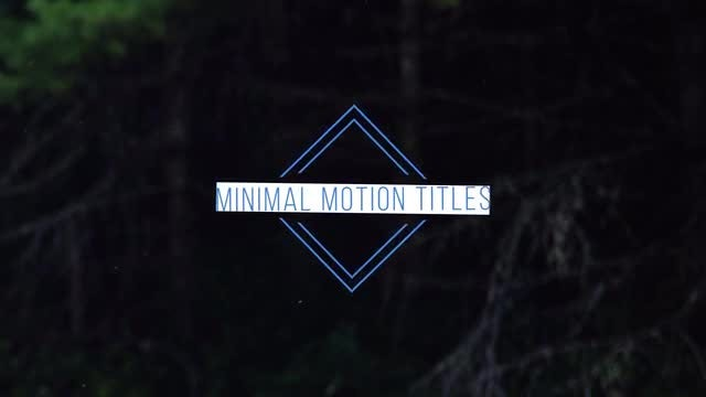 Simple Minimal Titles: Premiere Pro Templates