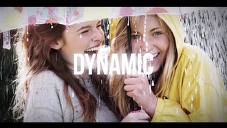 Dynamic Typography Opener: After Effects Templates