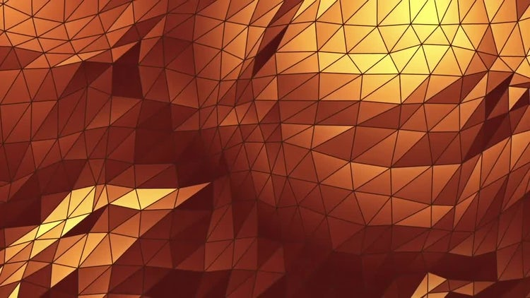 2 Polygons Backgrounds: Motion Graphics