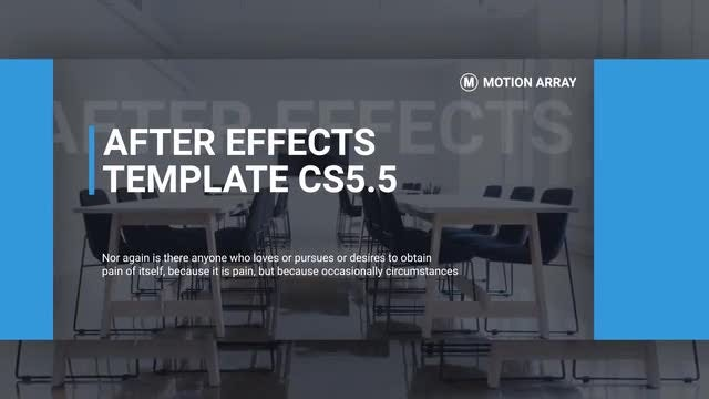 Modern Promo Slideshow: After Effects Templates