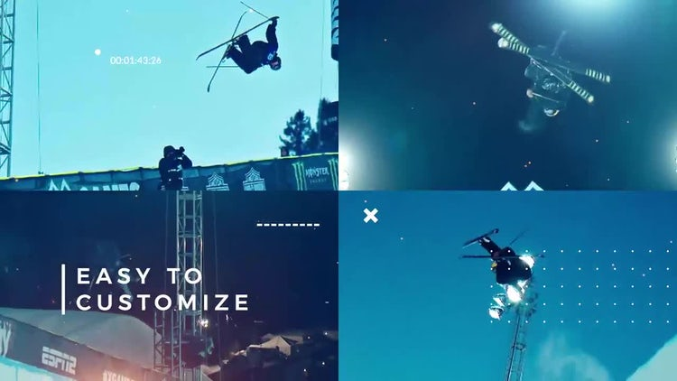 Sport Cinematic Opener: Premiere Pro Templates
