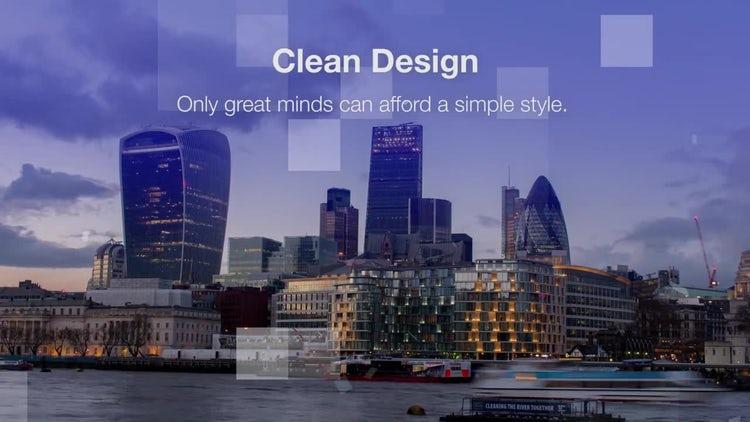Clean Corporate // Modern Minimalistic Opener: Premiere Pro Templates