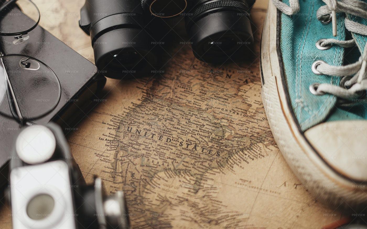 Traveling To America: Stock Photos