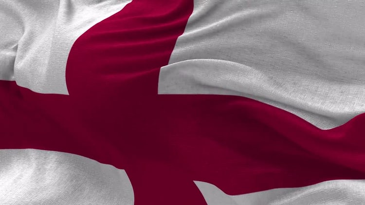 England Flag Animation: Motion Graphics