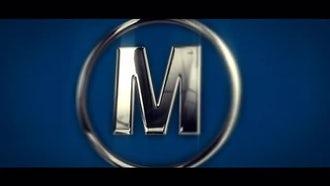 Elegant Metal Logo: After Effects Templates