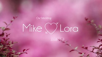 Modern Wedding Titles: After Effects Templates