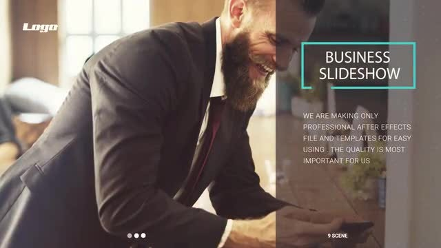 Corporate & Minimal Slideshow: After Effects Templates
