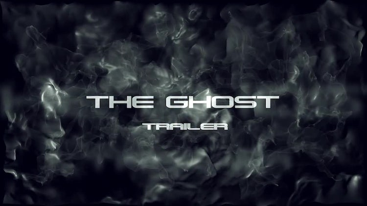 The Ghost Trailer: After Effects Templates