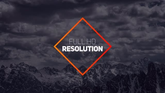 Geometric Unique Titles: After Effects Templates