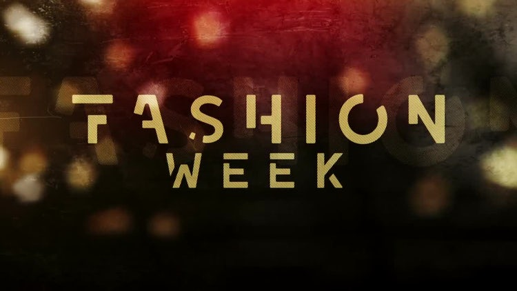 Fashion Week: After Effects Templates