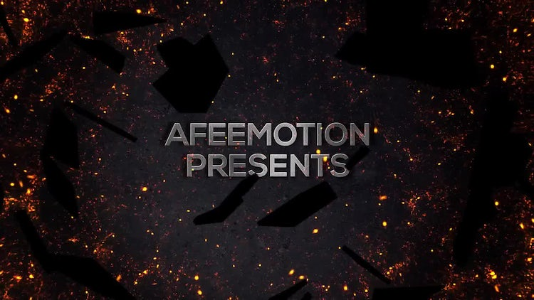 Screen Shatter Aggressive Trailer: After Effects Templates