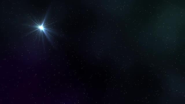 Starry Night: Stock Motion Graphics