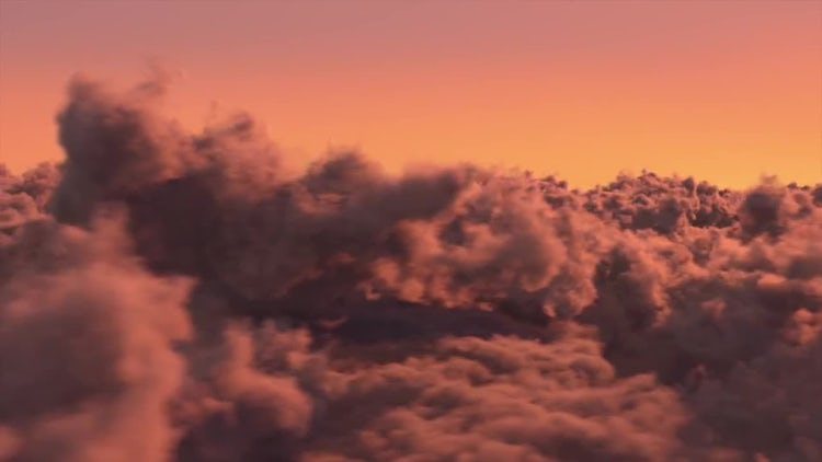 Above The Sunset Clouds: Motion Graphics