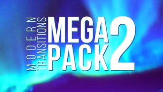 Modern Transitions Mega Pack 2: Premiere Pro Templates