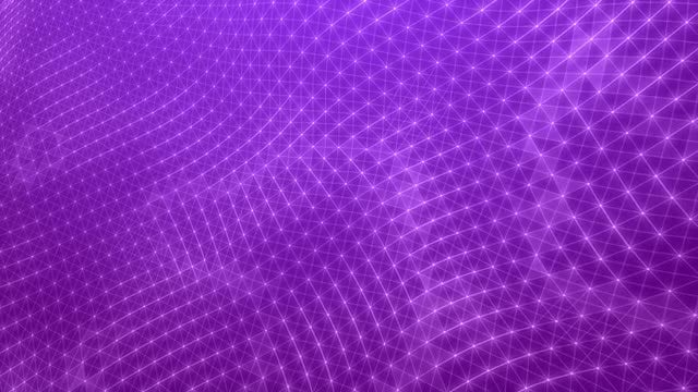 Purple Plexus Stars: Stock Motion Graphics