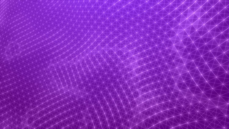 Purple Plexus Stars: Motion Graphics