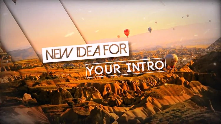 Epic & Modern Opener: After Effects Templates