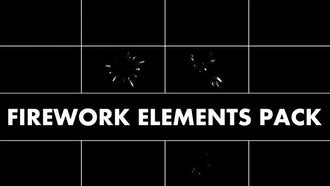 Firework Elements Pack: Motion Graphics