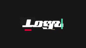 Fast Glitch Logo Reveal: After Effects Templates