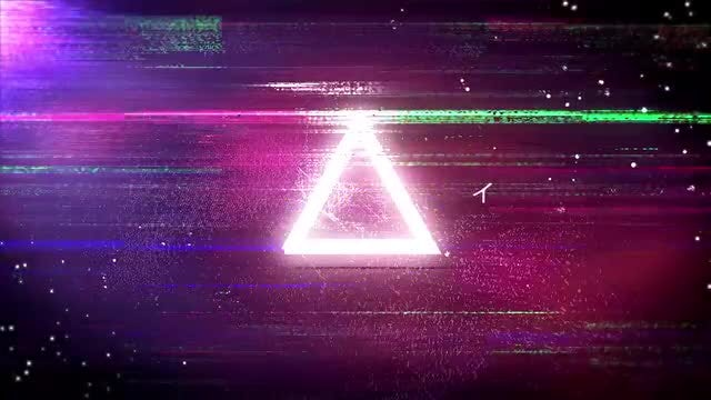 Cyberpunk Glitch Logo Opener: After Effects Templates