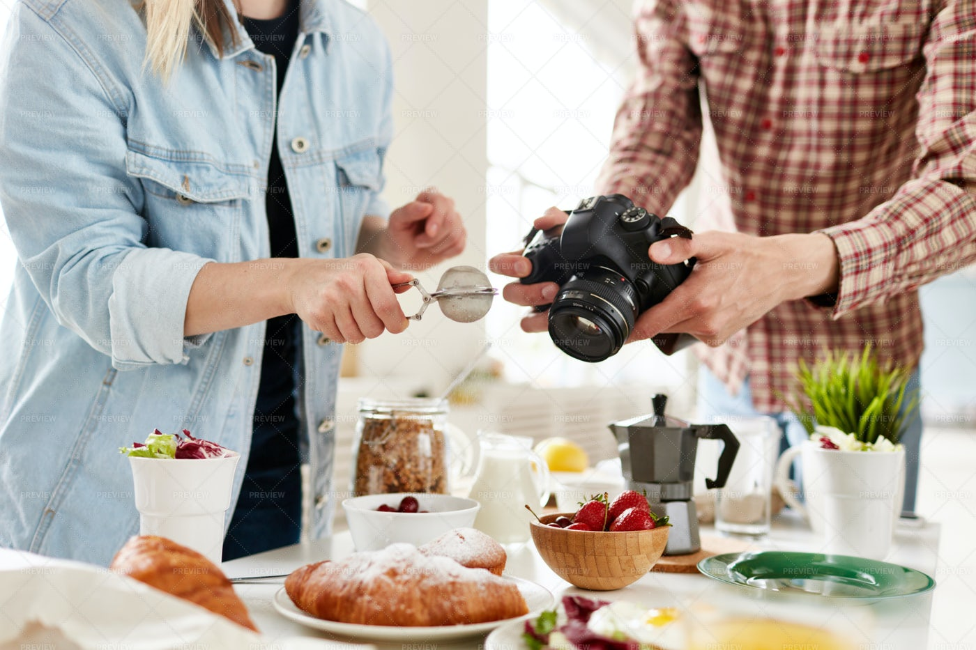 Food Styling Industry: Stock Photos