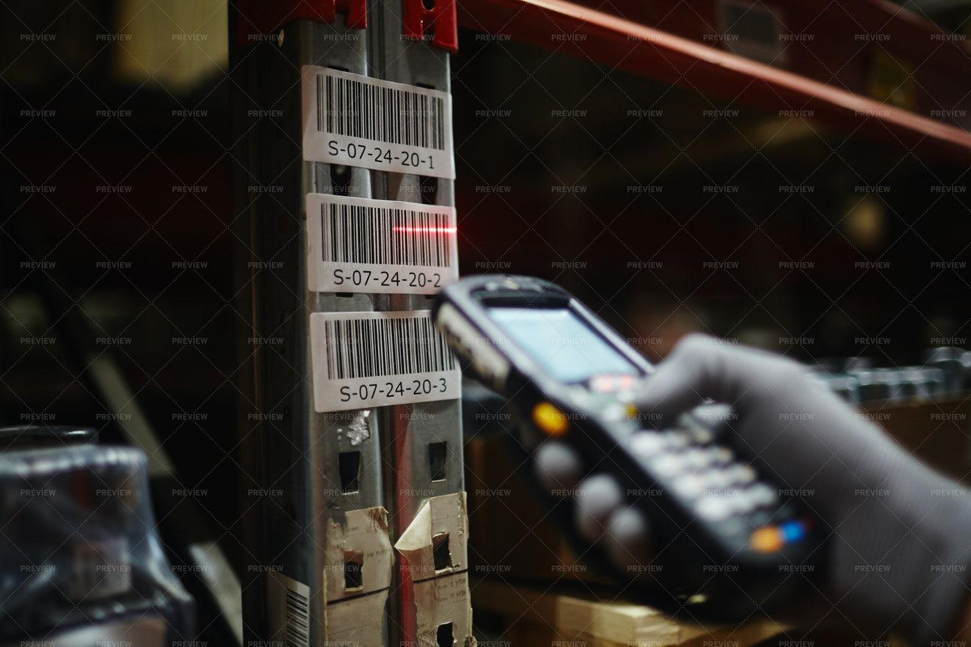 Reading Barcode: Stock Photos