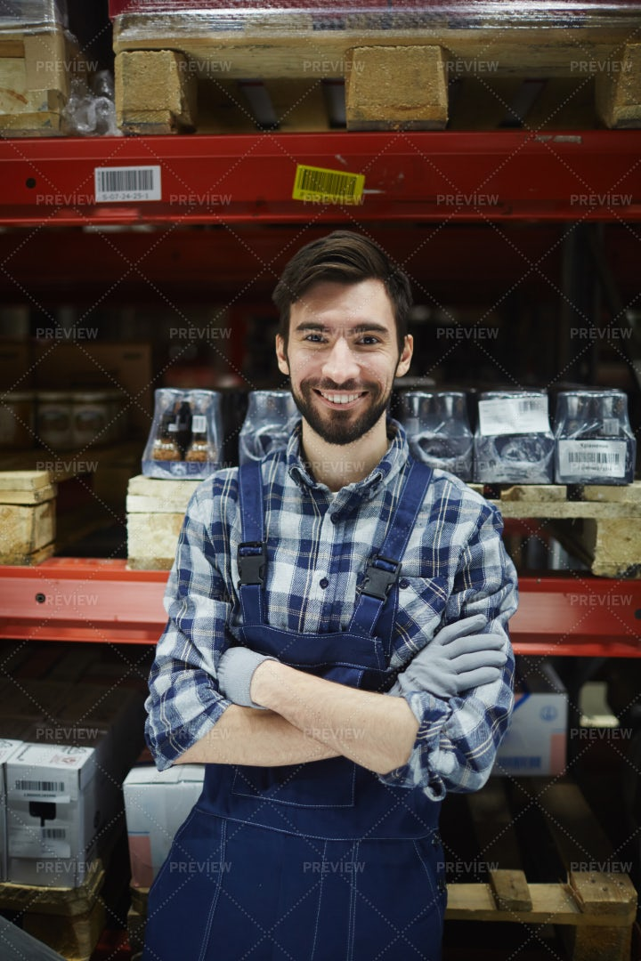 Manager Of Warehouse: Stock Photos