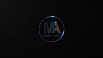 Logo in the dark: After Effects Templates