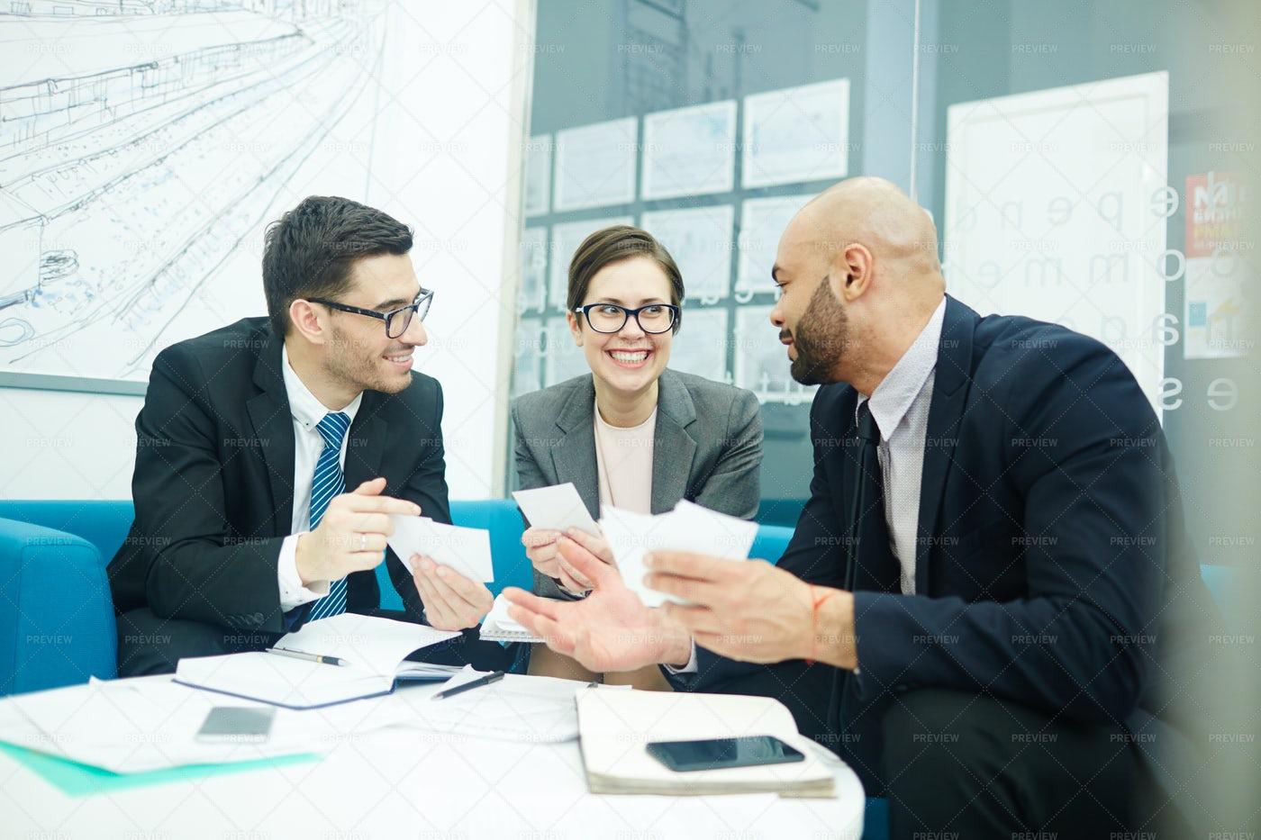 Start-up Meeting: Stock Photos