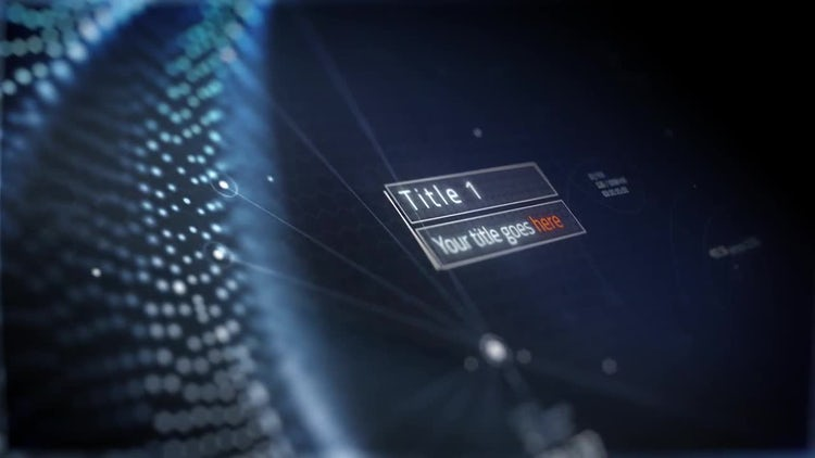 Science Opener: After Effects Templates