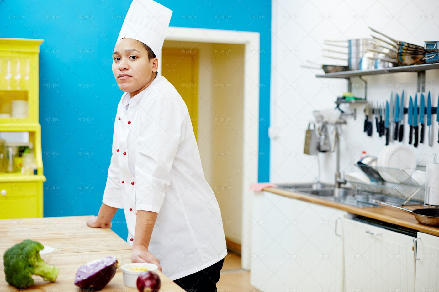 Chef By Workplace: Stock Photos
