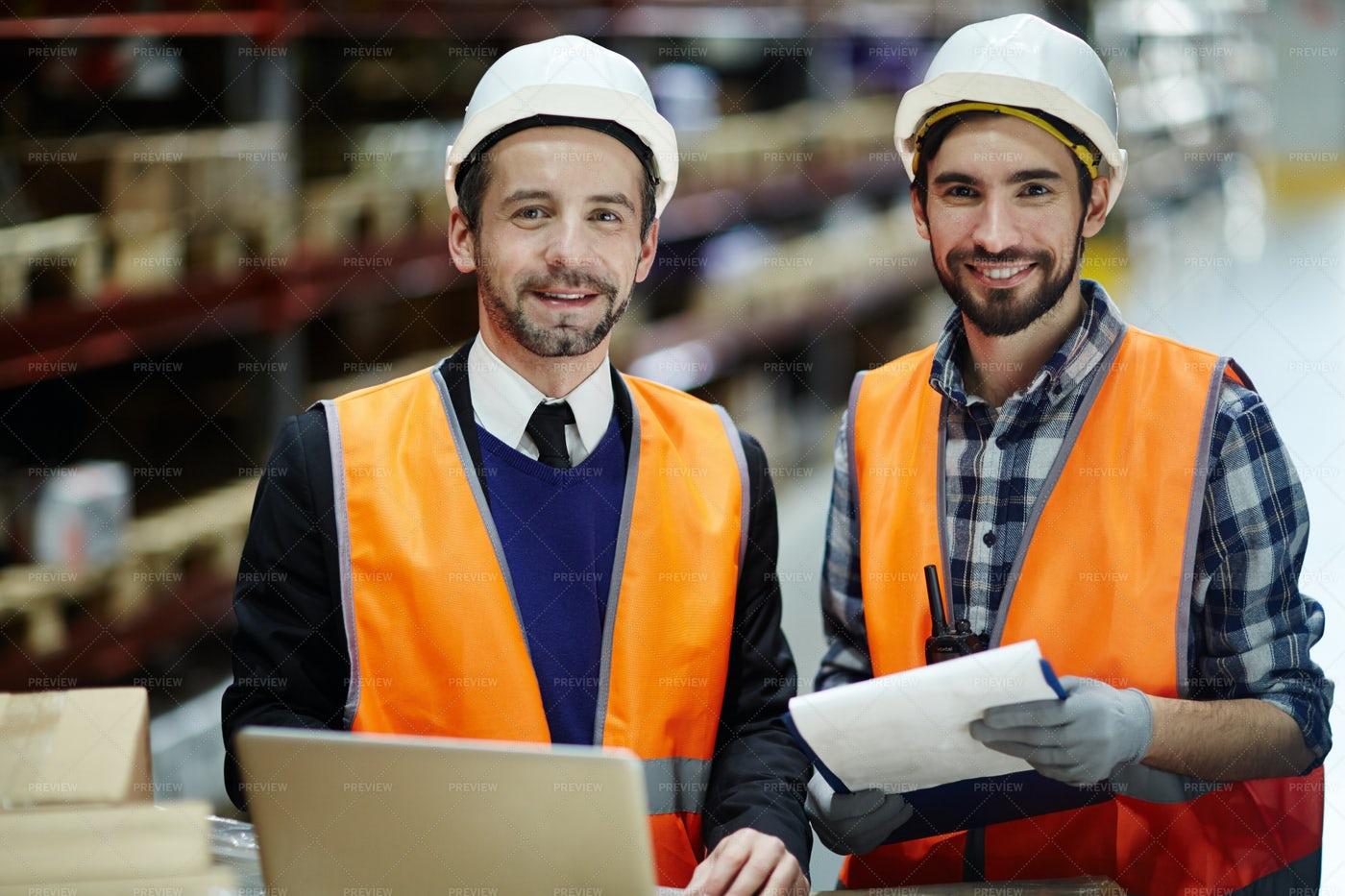 Professional Supervisors: Stock Photos
