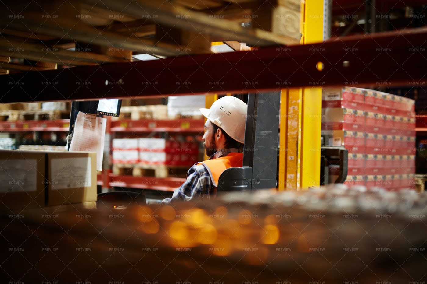 Worker Of Storehouse: Stock Photos