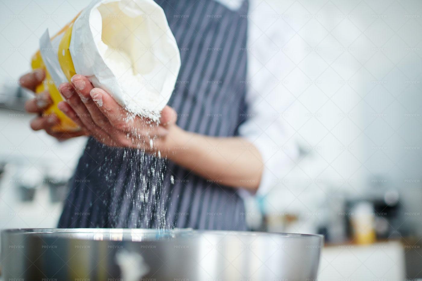 Making Dough: Stock Photos