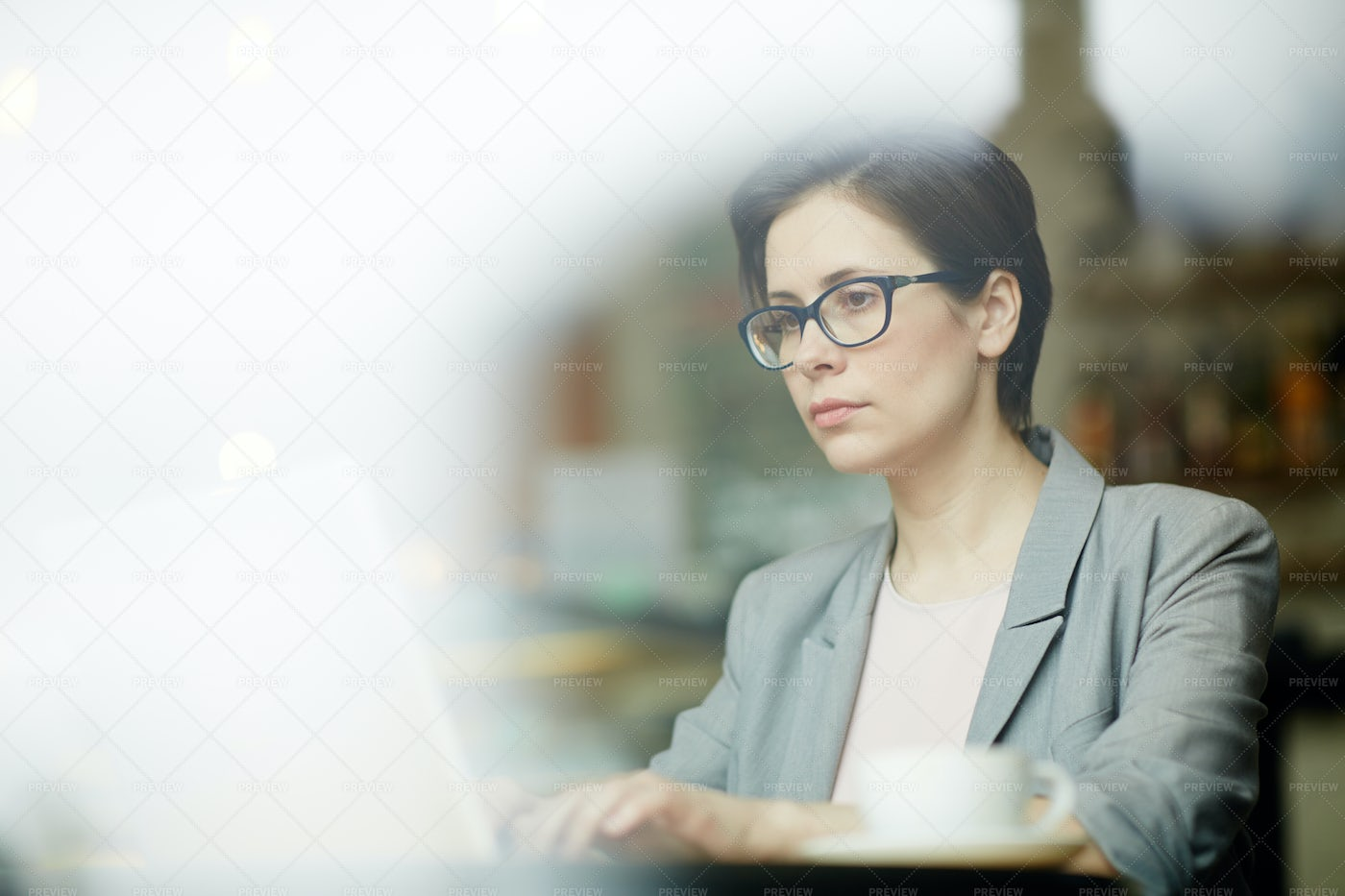 Working In The Net: Stock Photos